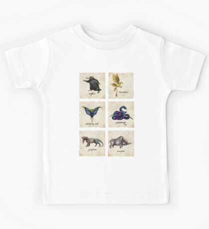 Fantastical Creatures Kids Tee