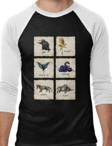 Fantastical Creatures Men's Baseball ¾ T-Shirt