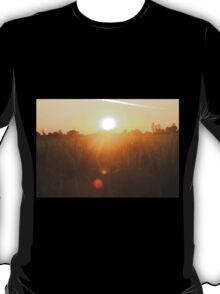 Sunset in Indian farm T-Shirt