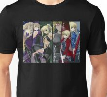 Fate Stay / Night Saber Lily  Unisex T-Shirt