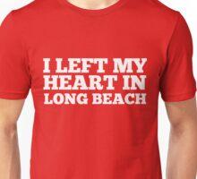 I Left My Heart In Long Beach Love Native T-Shirt Unisex T-Shirt