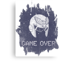Game Over Captain Falcon Canvas Print