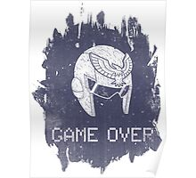 Game Over Captain Falcon Poster