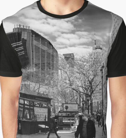 West 32nd Street | New York City, New York Graphic T-Shirt