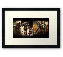 League of Legends Commando Skins Framed Print