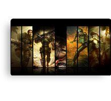 League of Legends Commando Skins Canvas Print