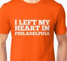 I Left My Heart In Philadelphia Love Native T-Shirt Unisex T-Shirt