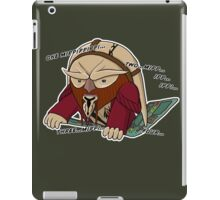Counting D'Argo iPad Case/Skin