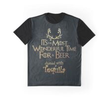 Wonderful Time for a Beer... & Tequila! Graphic T-Shirt
