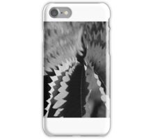abstract light and shadow bw iPhone Case/Skin