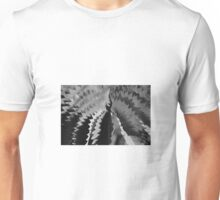 abstract light and shadow bw Unisex T-Shirt