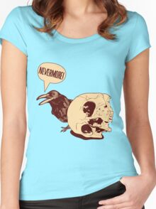 Nevermore Women's Fitted Scoop T-Shirt