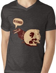 Nevermore Mens V-Neck T-Shirt