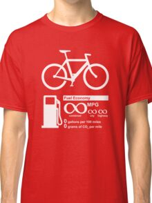 Funny - Infinity MPG Bicycle Love Classic T-Shirt