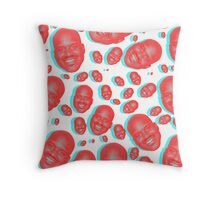 Attack of the Shaq Throw Pillow