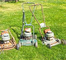 The Old Victa Mowers..... by mitpjenkeating