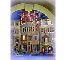 Pretty Swiss Village Photographic Print