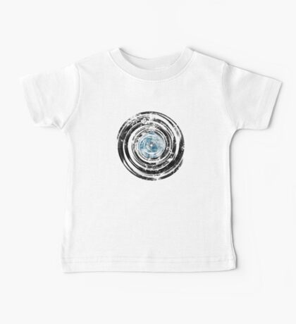 Old Vinyl Records Urban Grunge V2 Baby Tee