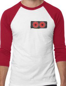 XFX RX480 Minimalist Men's Baseball ¾ T-Shirt