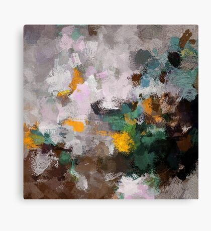 Autumn Abstract Art Canvas Print
