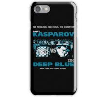 KASPAROV VS DEEP BLUE  iPhone Case/Skin