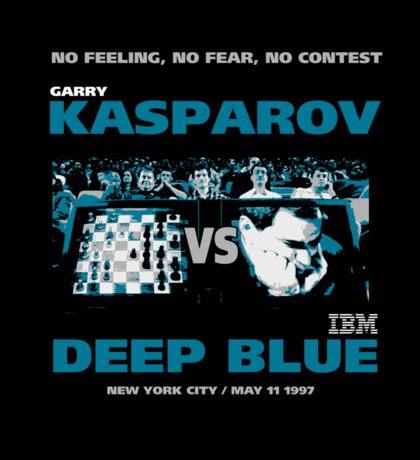 KASPAROV VS DEEP BLUE  Sticker