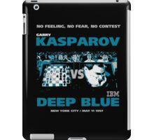 KASPAROV VS DEEP BLUE  iPad Case/Skin