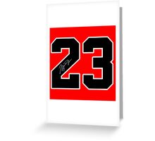 #23 MJ Greeting Card