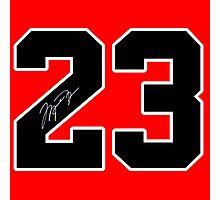 #23 MJ Photographic Print