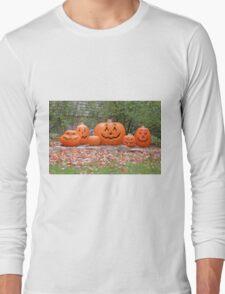 Jack-o-lanterns Long Sleeve T-Shirt
