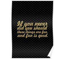 """If you never... """"Dr. Seuss"""" Inspirational Quote Poster"""