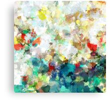Spring Abstract Art Canvas Print