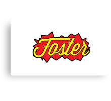 Foster (Bang Bang) Canvas Print