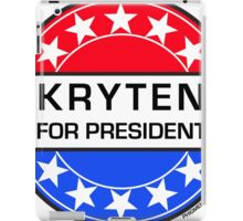 KRYTEN FOR PRESIDENT iPad Case/Skin