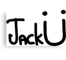 Jack Ü Tank Top Unisex Canvas Print