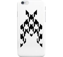 Houndstooth Clear iPhone Case/Skin