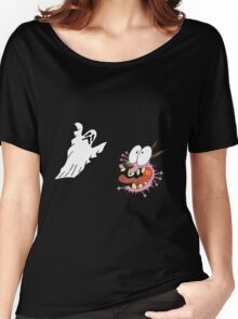 cowardly dog Women's Relaxed Fit T-Shirt