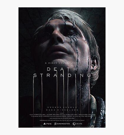 Death Stranding - Mads Mikkelsen Photographic Print