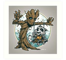 I Am Swing! Art Print