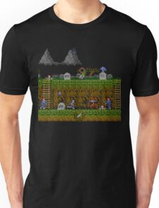 Ghosts and Goblins Scenery Unisex T-Shirt
