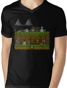 Ghosts and Goblins Scenery Mens V-Neck T-Shirt