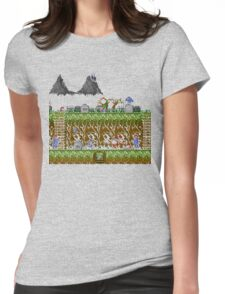 Ghosts and Goblins Scenery Womens Fitted T-Shirt