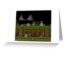 Ghosts and Goblins Scenery Greeting Card
