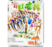 The Tour de France comes through Trausse France iPad Case/Skin
