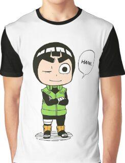 rock lee naruto Graphic T-Shirt