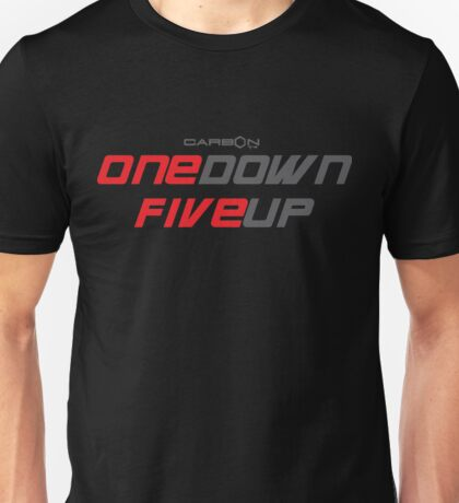 One Down Five Up (Motorcycle Original) Unisex T-Shirt