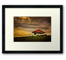Hut in Colour... Framed Print