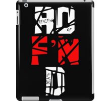 'The Review of Death' Extreme Logo iPad Case/Skin