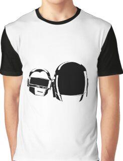 Daft Punk Helmet Graphic T-Shirt