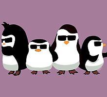 Penguins of Madagascar by mayiying89